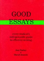 Cover of: Good Essays
