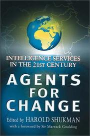 Cover of: Agents for Change