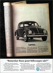 Cover of: Remember Those Great Volkswagen Ads?