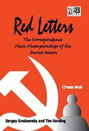 Cover of: Red Letters
