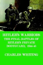 Cover of: Hitler's Warriors. the Final Battle of
