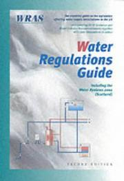 Cover of: Water Regulations Guide