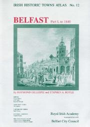 Cover of: Irish Historic Towns Atlas No 12