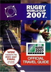 Cover of: Rugby World Cup 2007 Official Travel Guide (Purple Guide)