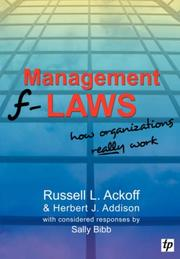 Cover of: Management f-Laws