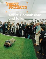 Cover of: Frieze Projects