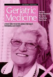 Cover of: Geriatric Medicine