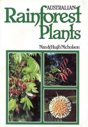 Cover of: Australian Rainforest Plants
