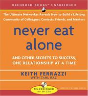 Cover of: Never Eat Alone