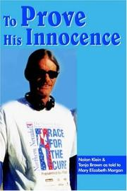 Cover of: To Prove His Innocence
