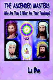 Cover of: The Ascended Masters