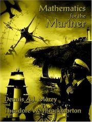 Cover of: Mathematics for the Mariner