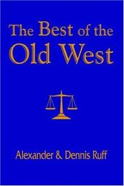Cover of: The Best of the Old West