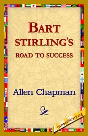 Cover of: Bart Sterlings Road to Success