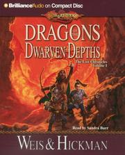 Cover of: Dragons of the Dwarven Depths: The Lost Chronicles, Volume I (The Lost Chronicles)