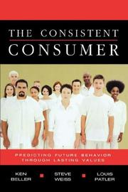 Cover of: The Consistent Consumer
