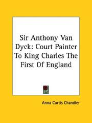 Cover of: Sir Anthony Van Dyck
