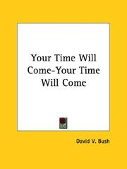 Cover of: Your Time Will Come-Your Time Will Come