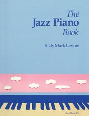 Cover of: The Jazz Piano Book