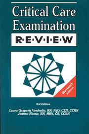 Cover of: Critical Care Examination Review Revised, 3rd Edition
