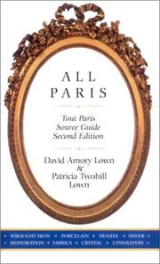 Cover of: All Paris, Second Edition (Tout Paris)