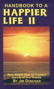 Cover of: Handbook to a Happier Life II