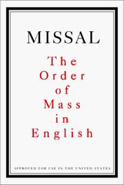 Cover of: Missal