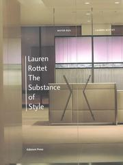 Cover of: The Substance of Style