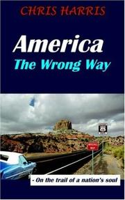 Cover of: America the Wrong Way
