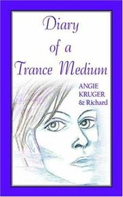 Cover of: Diary of a Trance Medium