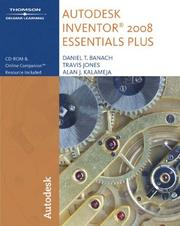 Cover of: Autodesk Inventor 2008 essentials plus