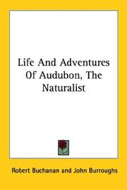 Cover of: Life And Adventures Of Audubon, The Naturalist