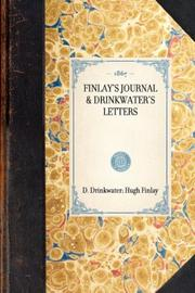 Cover of: Finlay's Journal & Drinkwater's Letters