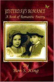 Cover of: Yesterday's Romance - A Book of Romantic Poems