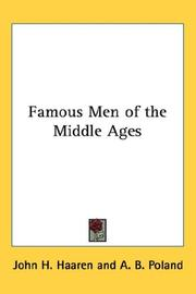 Cover of: Famous Men of the Middle Ages