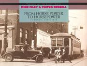 Cover of: From Horse Power to Horsepower: Toronto