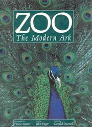 Cover of: Zoo: The Modern Ark