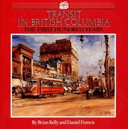 Cover of: Transit in British Columbia