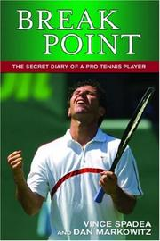 Cover of: Break Point! The Secret Diary of a  Pro Tennis Player