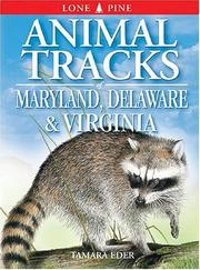 Cover of: Animal Tracks of Maryland, Delaware & Virginia (Animal Tracks Guides)