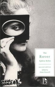 Cover of: The Rover (Broadview Literary Texts)