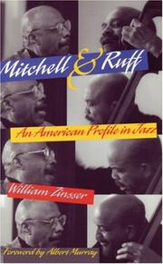 Cover of: Mitchell & Ruff: An American Profile in Jazz