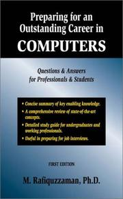 Cover of: Preparing for an Outstanding Career in Computers