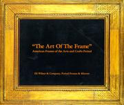 "Cover of: ""The Art of the Frame"""
