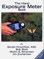 Cover of: The Hand Exposure Meter Book