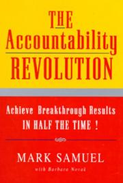 Cover of: The Accountability Revolution