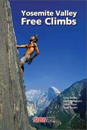 Cover of: Yosemite Valley Free Climbs