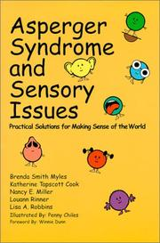 Cover of: Asperger's Syndrome and Sensory Issues