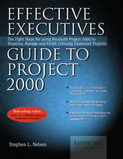 Cover of: Effective Executive's Guide to Project 2000