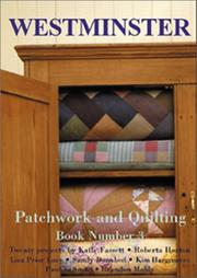 Cover of: Patchwork and Quilting Book (Westminster Patchwork and Quilting)